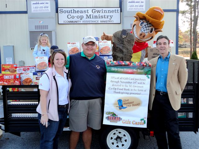 Give Hunger the Boot Kicks Off with Texas Roadhouse